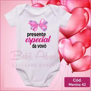 Body Menina 42 / Presente Especial da Vovó
