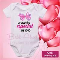 Body Menina 44 / Presente Especial do Vovô