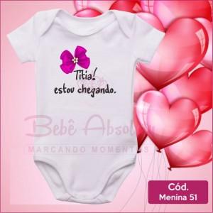 Body Menina 51 / Titia Estou Chegando
