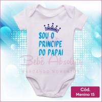 Body Menino 15 / Sou Príncipe do Papai