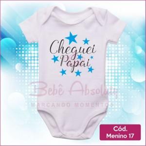 Body Menino 17 / Cheguei Papai