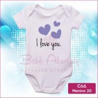 Body Menino 20 / I Love You