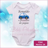 Body Menino 26 / O Presente do Papai
