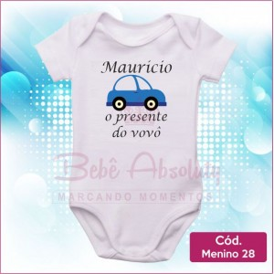 Body Menino 28 / O Presente do Vovô