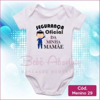 Body Menino 29 / Segurança Oficial da Mamãe