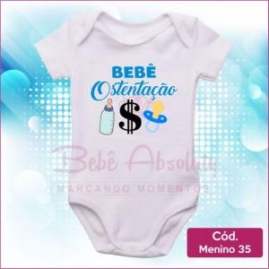 Body Menino 35 / Bebê Ostentação