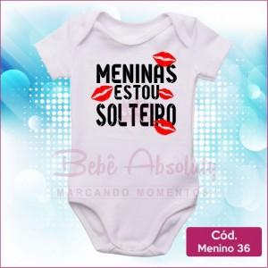 Body Menino 36 / Meninas Estou Solteiro