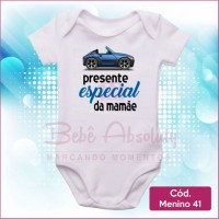 Body Menino 41 / Presente Especial da Mamãe