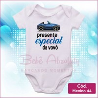 Body Menino 44 / Presente Especial do Vovô