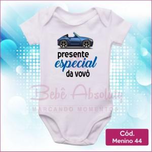 Body Menino 44 / Presente Especial do Vovô