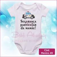 Body Menino 49 / Segurança Particular da Mamãe