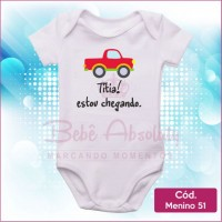 Body Menino 51 / Titia Estou Chegando