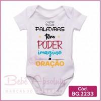Body Bebê Oração - BG2233