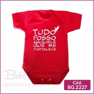 Body Bebê Tudo Posso - BG2227