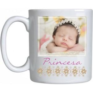 Caneca Porcelana Princesa