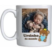 Caneca Porcelana Ursinho da Mamãe