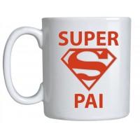 Caneca Porcelana Super Pai